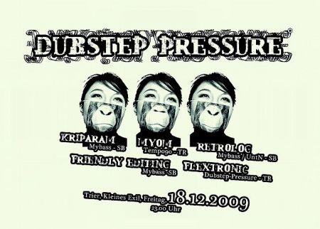 dubstep pressure